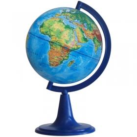 Глобус физический Глобусный мир, 15см, на круглой подставке 10003