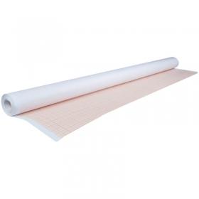 Бумага масштабно-координатная AstKanz, 640мм*10м, оранжевая АК80-М640/10