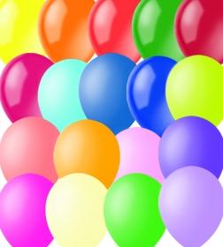 Воздушные шары, 100шт., M9/23см, ПатиБум, пастель+декоратор, ассорти 4607028763298