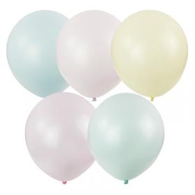"""Воздушные шары, 100шт., М12/30см, ПатиБум """"Macaroons"""" ассорти, пастель 4690296066567"""