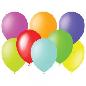Воздушные шары, 100шт., М9/23см, ПатиБум, пастель, ассорти 4607028760365