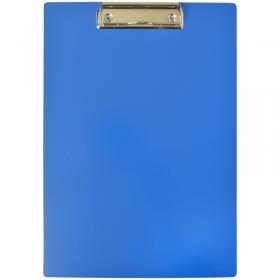 Планшет с зажимом OfficeSpace А4, пластик, синий 245656