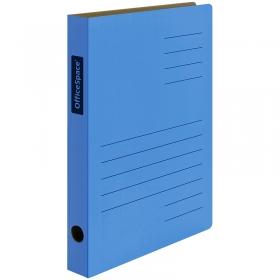 Скоросшиватель из микрогофрокартона OfficeSpace, ширина корешка 30мм, синий 235071
