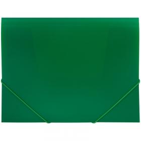 Папка на резинке OfficeSpace А4, 500мкм, зеленая FE3_327