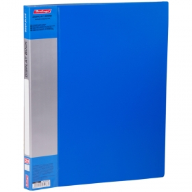 """Папка с 20 вкладышами Berlingo """"Standard"""", 14мм, 600мкм, синяя MT2428"""