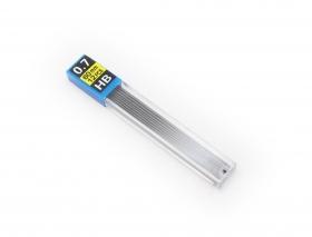 Грифели для механических карандашей (К-3934) d=0,7 mm, HB, 12 шт.