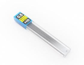Грифели для механических карандашей (К-3935) d=0,5 mm, HB, 12 шт.