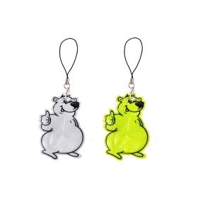 Светоотражающий брелок  мишка Балу DV-4646
