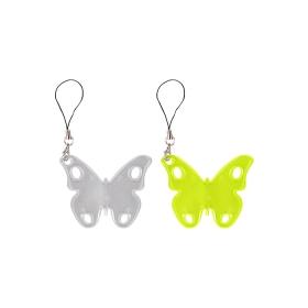 Светоотражающий брелок бабочка DV-4636