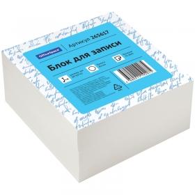 Блок для записи OfficeSpace, 8*8*4см, белый, белизна 70-80% 263617