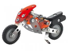 """Металлический конструктор """" Мотоцикл"""",72 детали, Арт. SM383943"""