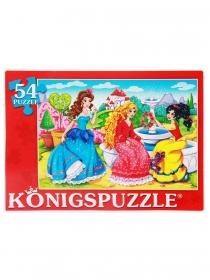 Konigspuzzle. ПАЗЛЫ 54 элемента. В МИРЕ ПРИНЦЕСС (Арт. ПК54-9996) с кратно 24