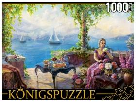 Konigspuzzle. ПАЗЛЫ 1000 элементов. РУКK1000-3820 О. ДАНДОРФ. В БЕСЕДКЕ