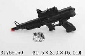 "Пистолет (30см) ""АВТОМАТ. ЗАХВАТ"" (значок в компл.) (Арт. 1755159)"