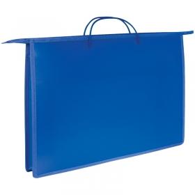 Папка для чертежей и рисунков А3 ArtSpace, синий, пластик, на молнии ПР3_3415