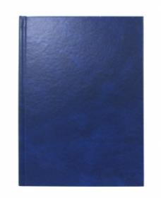Ежедневник А5, 128 л. (128-4927) СИНИЙ  бумвинил недатированный