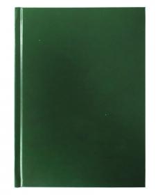 Ежедневник А5, 128 л. (128-4928) ЗЕЛЕНЫЙ  бумвинил недатированный