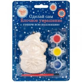 """Новогодний набор для творчества """"Веселый Дед Мороз"""" 77972"""