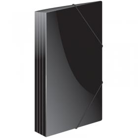 """Папка на резинке Berlingo """"Standard"""" А4, 600мкм, черная MB2326"""