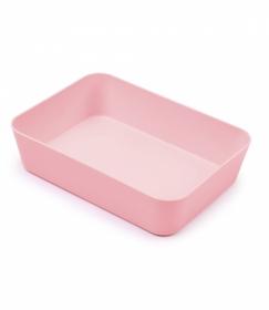 Лоток хозяйственный малый розовый Pastel ЛТ446