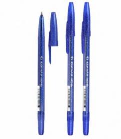 """Ручка шариковая масляная """"Южная ночь"""" синий стержень 0,7мм СТАММ РК21"""