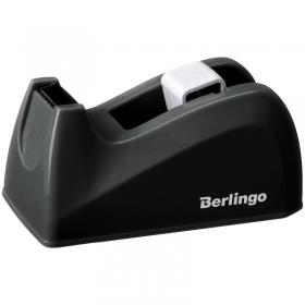 Диспенсер настольный Berlingo для канцелярской клейкой ленты, черный FSd_00021