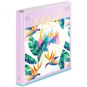 """Тетрадь на кольцах А5, 160л., 7БЦ, ArtSpace """"Цветы. Tropical floral"""" ТК160_27842"""