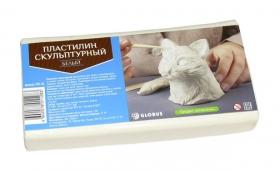 Пластилин скульптурный цвет белый ПЛС-06