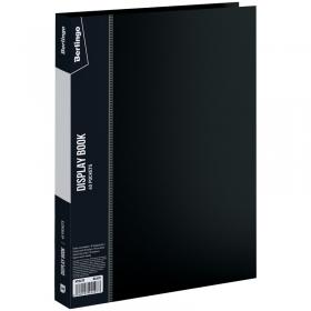"""Папка с 40 вкладышами Berlingo """"Standard"""", 21мм, 600мкм, черная MT2439"""