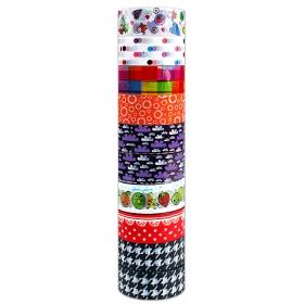 Лента декоративная липкая 15мм*2м 10шт/уп Darvish DV-9197 уна за упак 10 шт