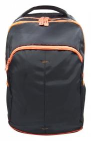 Рюкзак Silwerhof Power черный/оранжевый неоновый 830845