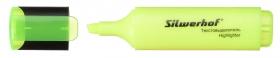 Текстовыделитель Silwerhof Blaze 108036-05 скошенный пиш. наконечник 1-5мм желтый картон
