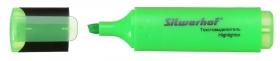 Текстовыделитель Silwerhof Blaze 108036-03 скошенный пиш. наконечник 1-5мм зеленый картон