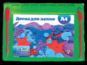 Доска для лепки А4 цветная, 2 стека (60), ДЛ-02