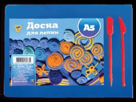 Доска для лепки А5 цветная, 2 стека (малая) (90), ДЛ-03