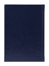 Ежедневник А5, 128л, ВИЛАДЖ тёмно-синий (128П-1868) пухл.обл., недатиров. 128П-1868
