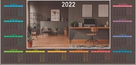 Календарь-домик табельный ОФИС ПЕРФЕКЦИОНИСТА-2 (КД-3262) КД-3262