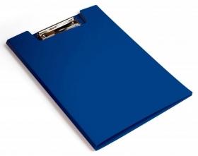 Папка клип-борд Бюрократ -PD602BLU A4 пластик 1.2мм синий