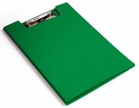 Папка клип-борд Бюрократ -PD602GRN A4 пластик 1.2мм зеленый