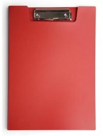 Папка клип-борд Бюрократ -PD602RED A4 пластик 1.2мм красный