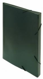 Портфель Бюрократ -BPR13BLCK 13 отдел. A4 пластик 0.7мм черный