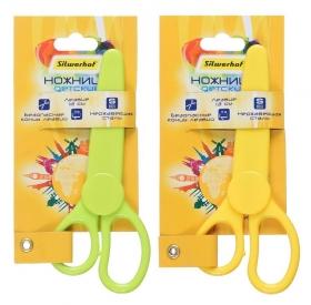 Ножницы Silwerhof 453109 Солнечная коллекция детские 130мм ручки пластиковые нержавеющая сталь ассор