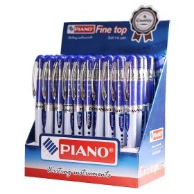 """Ручка шар. синяя на масляной основе """"Piano"""" корпус тонированный PT-255-A"""