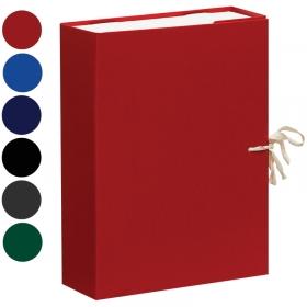 Короб архивный с завязками OfficeSpace разборн, БВ, 80мм, ас, клапан микрогофрокартон, 700л A-BAV08_