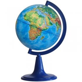 Глобус физический Глобусный мир, 12см, на круглой подставке 10001
