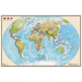 """Карта """"Мир"""" политическая DMB, 1:35млн., 900*580мм ОСН1234111"""